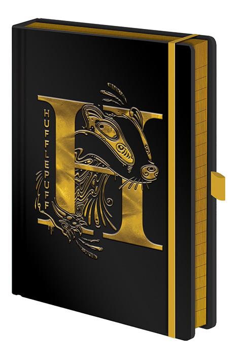 Notebook Harry Potter - Hufflepuff Foil