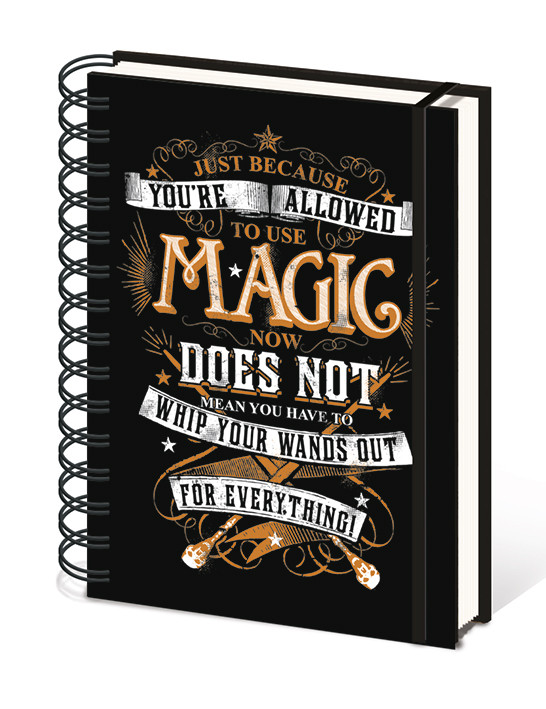 Harry Potter - Magic Notebook