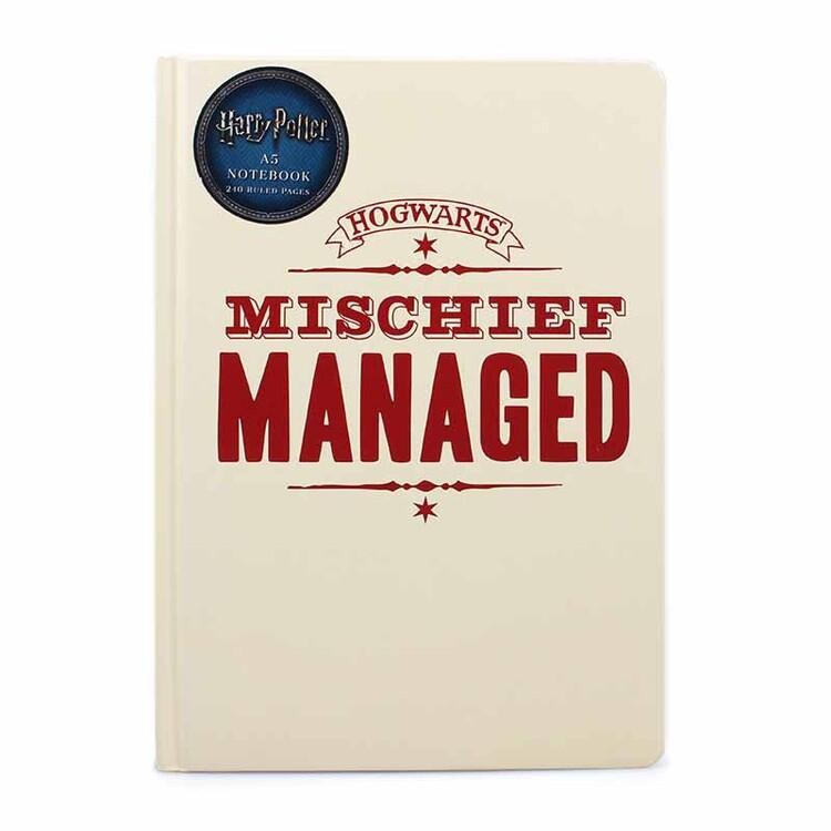 Notebook Harry Potter - Mischief Managed