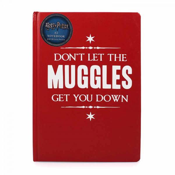 Notebook Harry Potter - Muggle Get Down