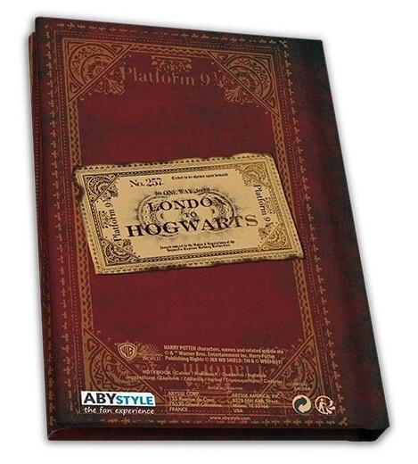 Notebook Harry Potter - Platform 9 3/4 (A6)
