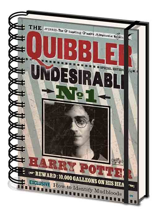 Harry Potter - Quibbler Notebook