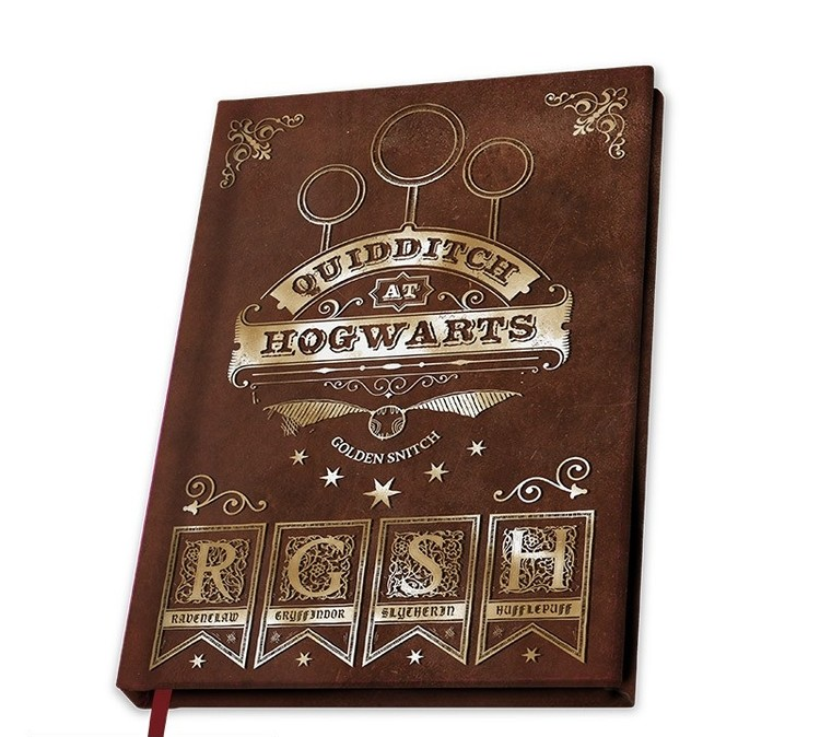Notebook Harry Potter - Quidditch