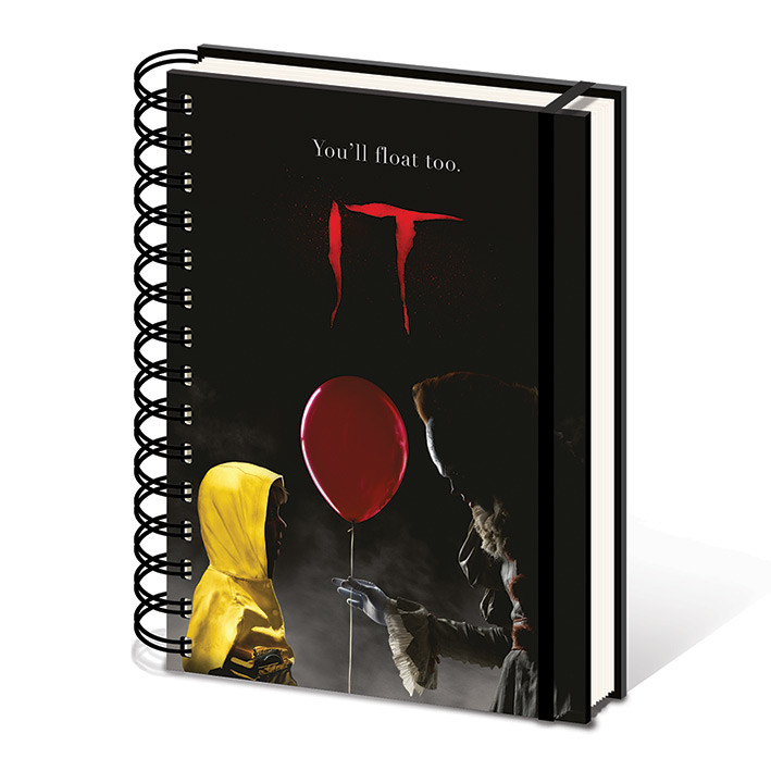 IT - Pennywise & Georgie Notebook
