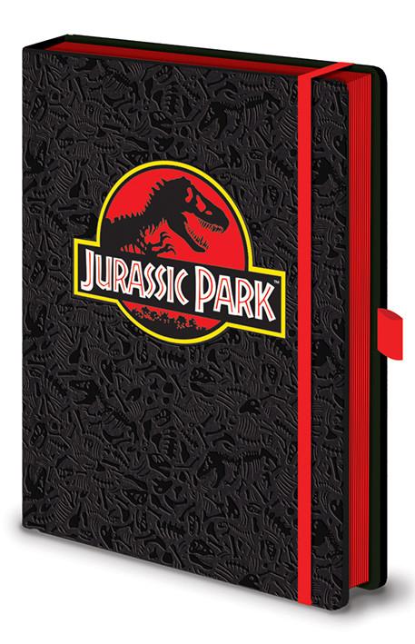 Jurassic Park - Classic Logo Premium Notebook