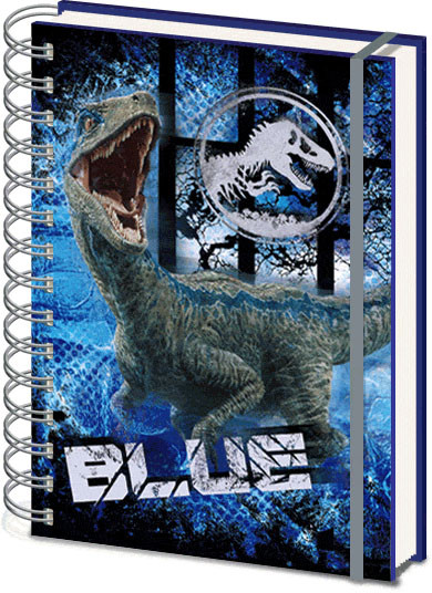 Jurassic World Fallen Kingdom 3D Cover Notebook