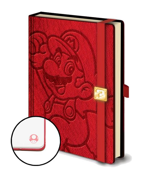 Mario - A5 Premium Notebook