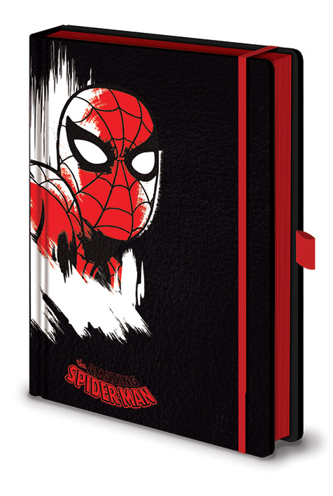 Marvel Retro - Spider-Man Mono Premium Notebook