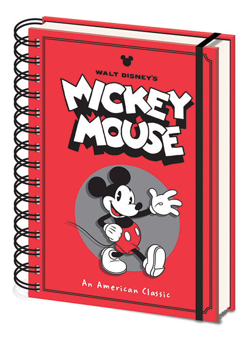 Mickey Mouse - Wave Notebook