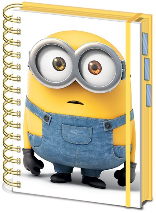 Minions - Movie A5 Project Book Notebooks