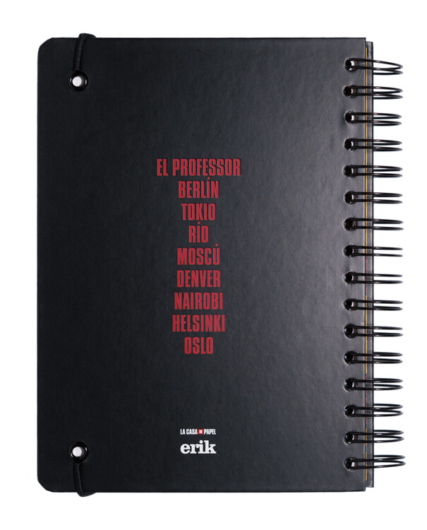 Notebook Money Heist (La Casa De Papel)