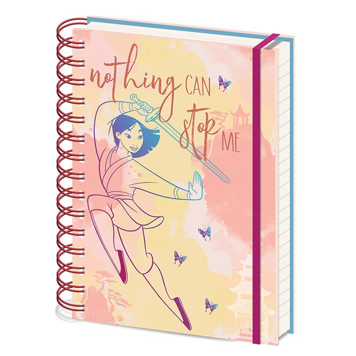Notebook Mulan - Nothing Can Stop Me