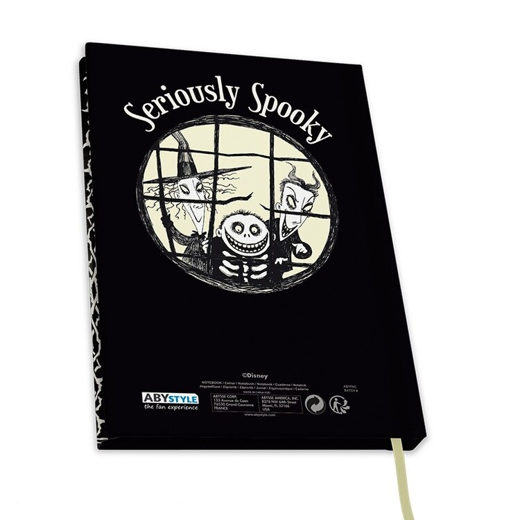 Notebook Nightmare Before Christmas - Seriously Spooky