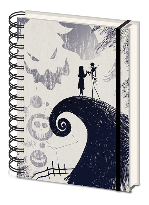 Notebook Nightmare Before Christmas - Spiral Hill
