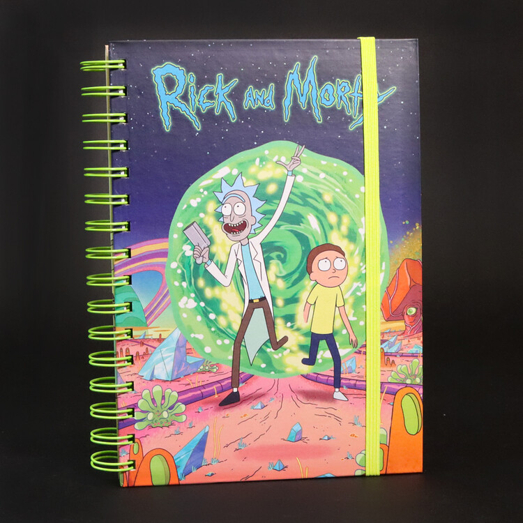 Notebook Rick and Morty - Portal
