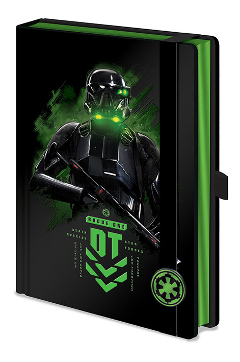 Notebook Rogue One: Star Wars Story - Death Trooper A5 Premium