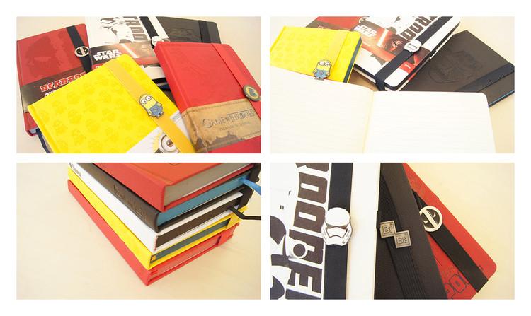 Rolling Stones - Black A5 Premium Notebook