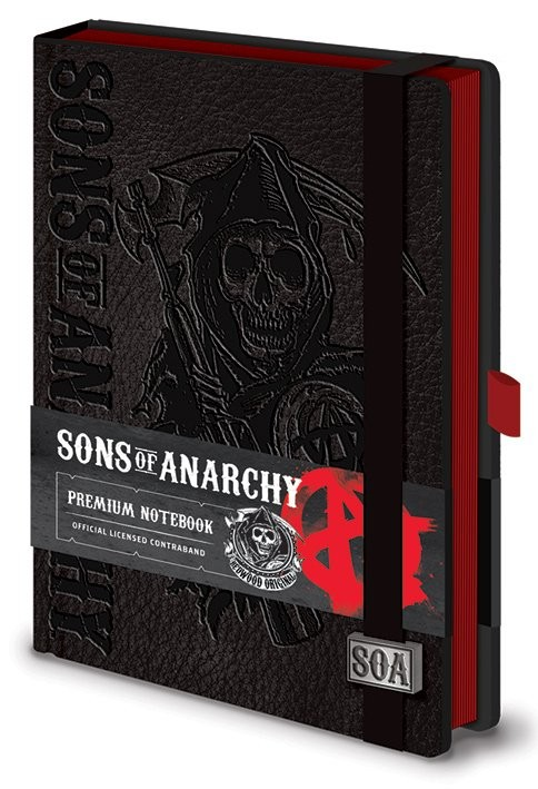 Sons of Anarchy - Premium A5 Notebook  Notebooks