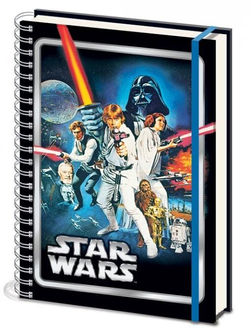 Star Wars - A New Hope A4 Notebook Notebooks