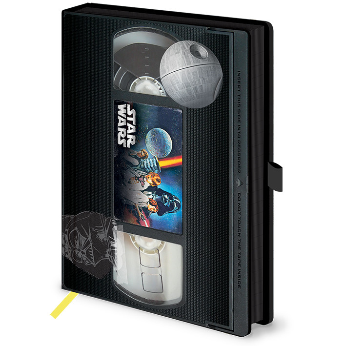 Notebook Star Wars - A New Hope VHS