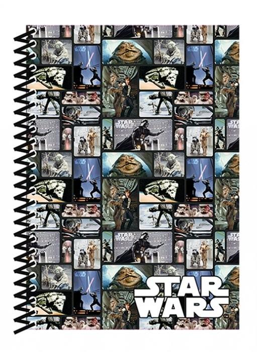 Star Wars - Blocks A5 Soft Cover Notebook Notebooks