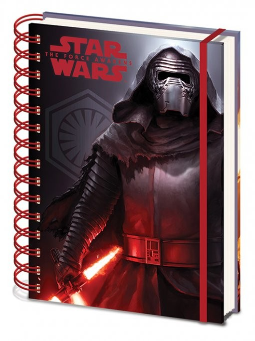 Star Wars Episode VII: The Force Awakens - Dark A5 Notebook