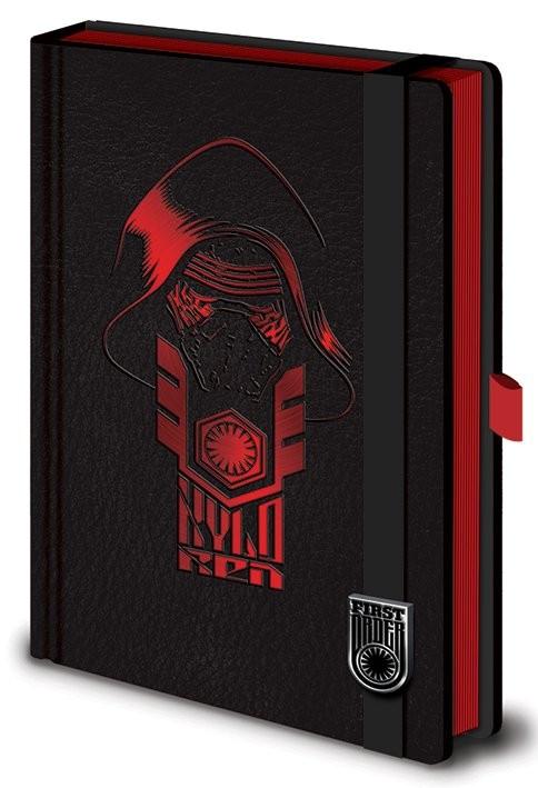Star Wars Episode VII: The Force Awakens - Kylo Ren Premium A5 Notebook Notebooks