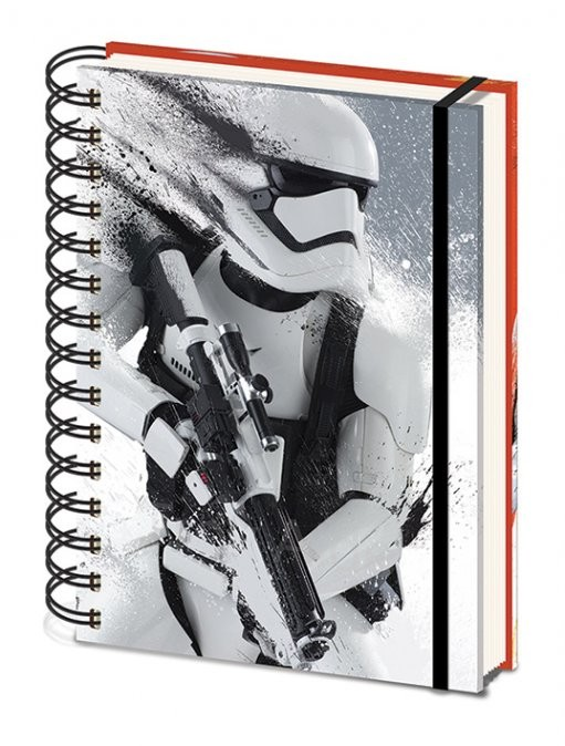 Notebook Star Wars Episode VII: The Force Awakens - Stormtrooper Paint A5