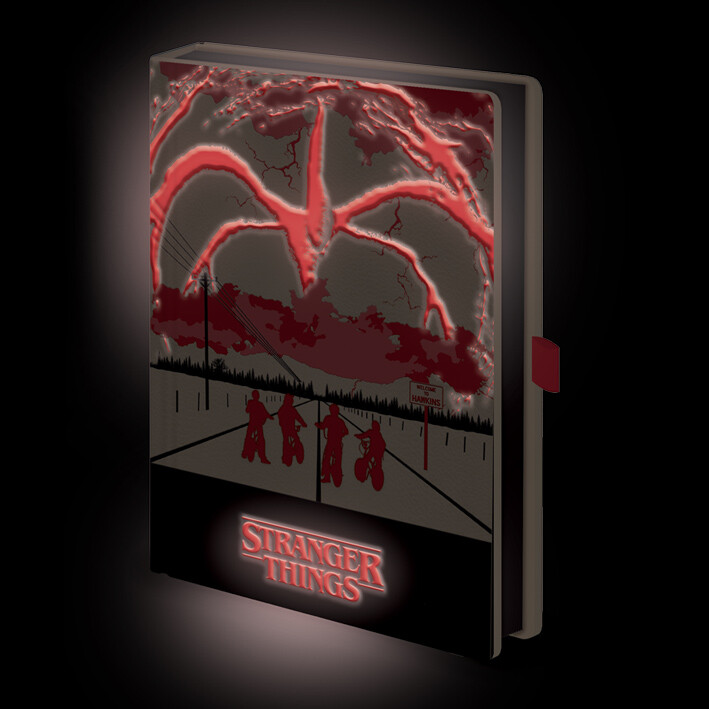 Notebook Stranger Things - Mind Flayer (Light Up)