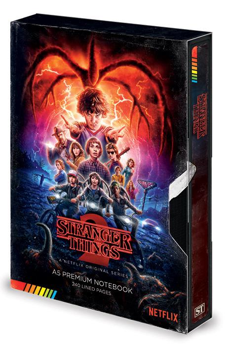 Notebook Stranger Things - S2 VHS
