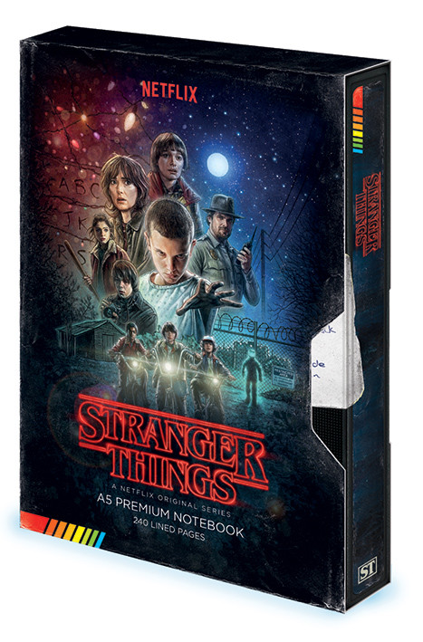 Stranger Things - VHS Notebook