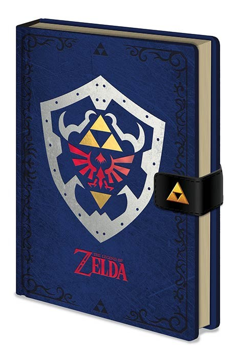 The Legend of Zelda - Hylian Shield Notebook