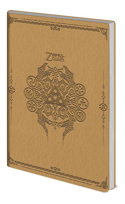 Notebook The Legend Of Zelda - Sage Symbols