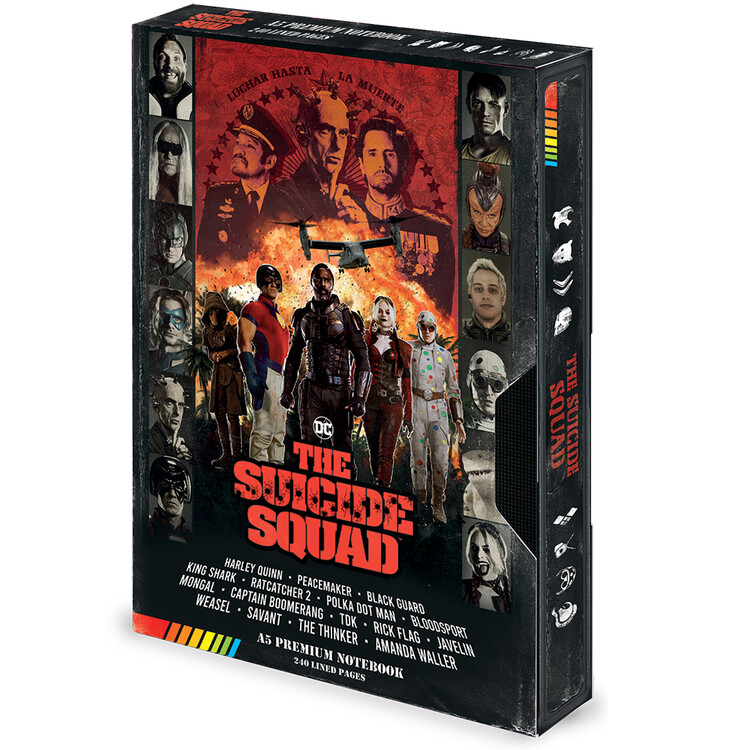 Notebook The Suicide Squad (Retro) VHS