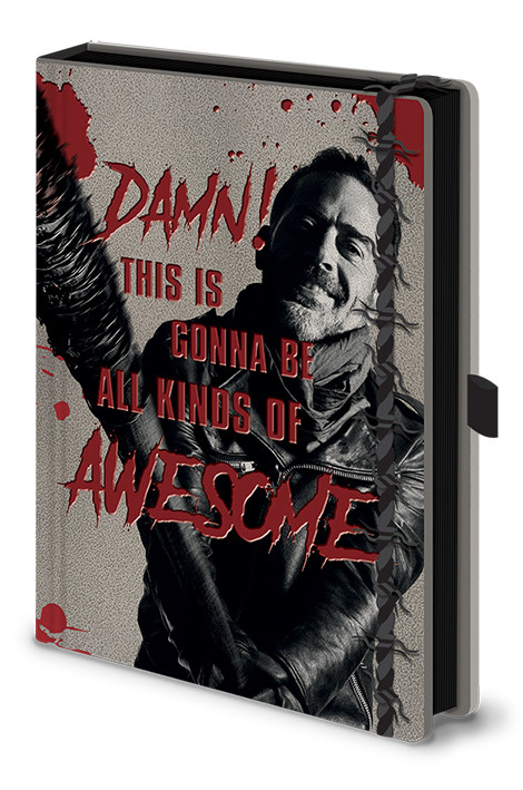 The Walking Dead - Negan & Lucile Notebook
