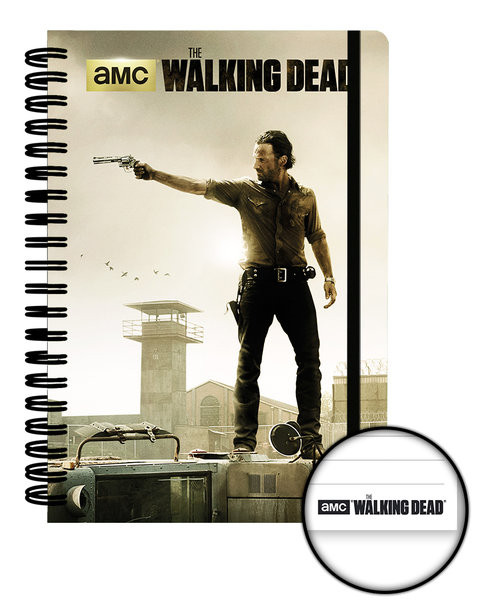 The Walking Dead - Prison A5 Notebook