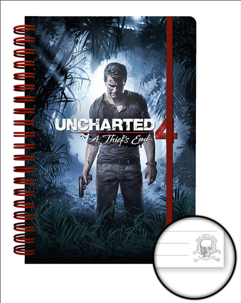 Uncharted 4 - Cover Notebooks