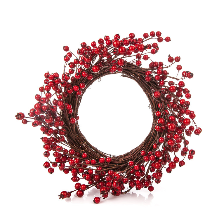 Wreath Berries, 40 cm Objectos Decorativos