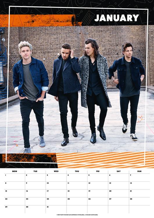 2021 One Direction Calendar Wallpaper