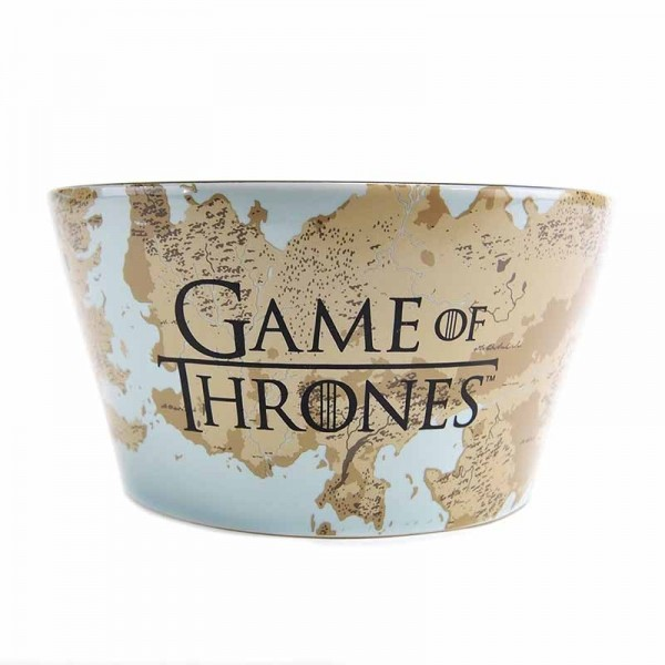 Bowl Game of Thrones - Plaque & Map
