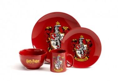 Dinner set Harry Potter - Gryffindor
