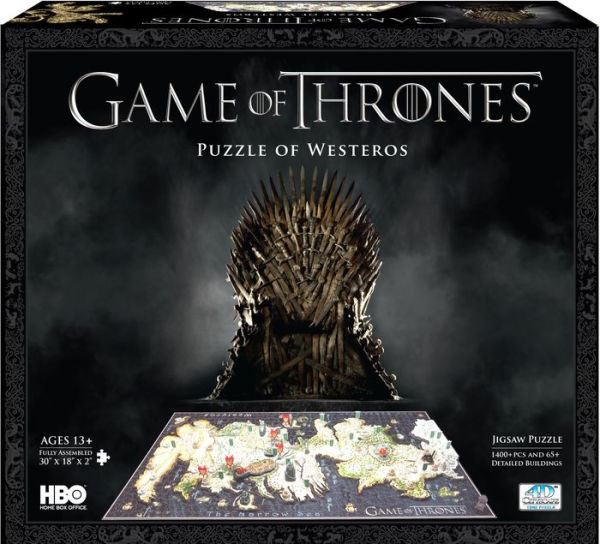 Puzzle  Game of Thrones - Westeros 4D Cityscape