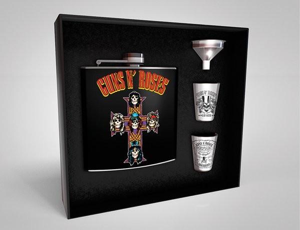 Hip Flask: Gift Set Guns N Roses - Cross