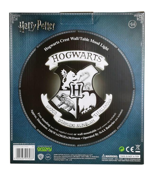 Lamp Harry Potter - Hogwarts Shield