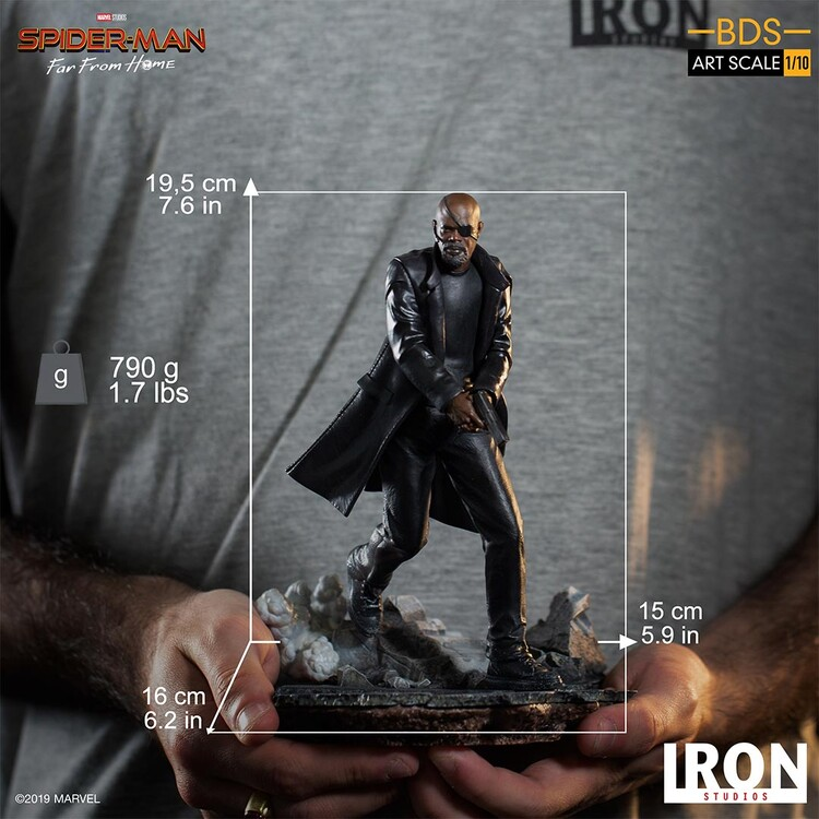 Figurine Spiderman: Far From Home - Nick Fury