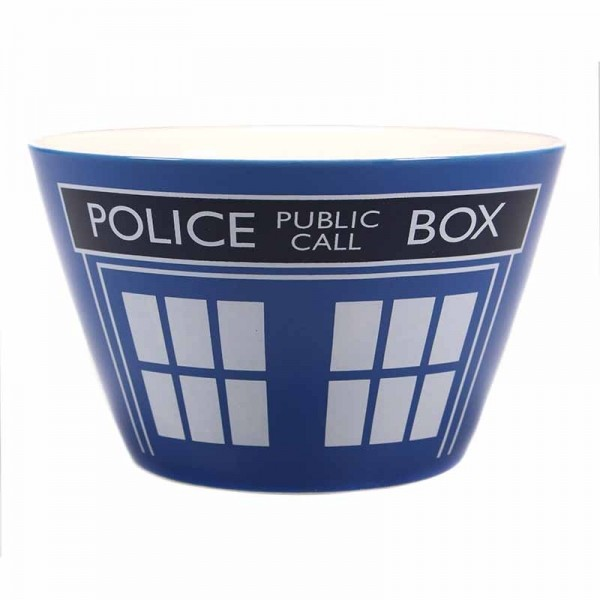 Tigela Dr. Who - Tardis