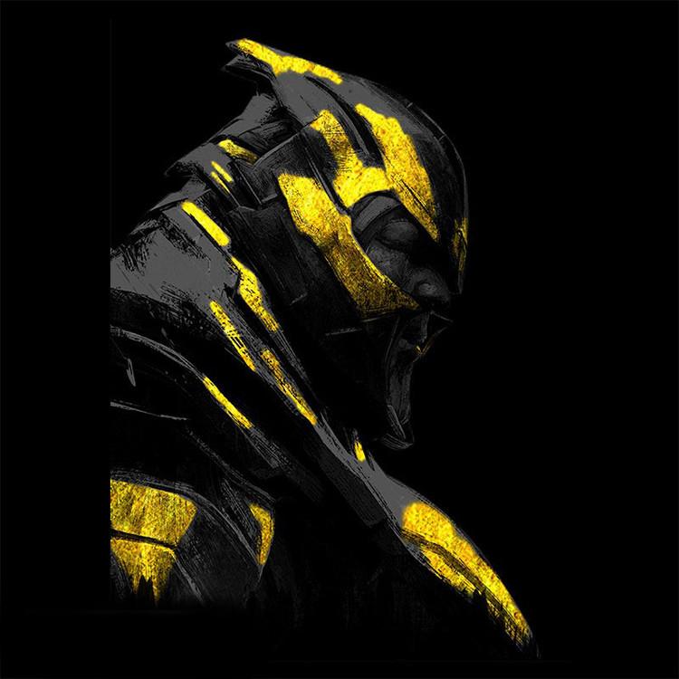 Paita  Avengers: Endgame - Gold Thanos