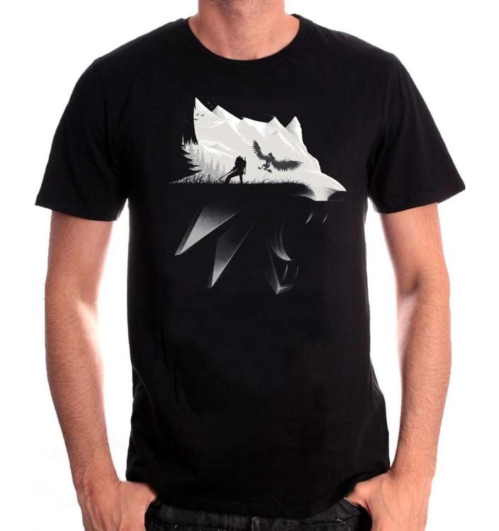 Paita The Witcher - Wolf