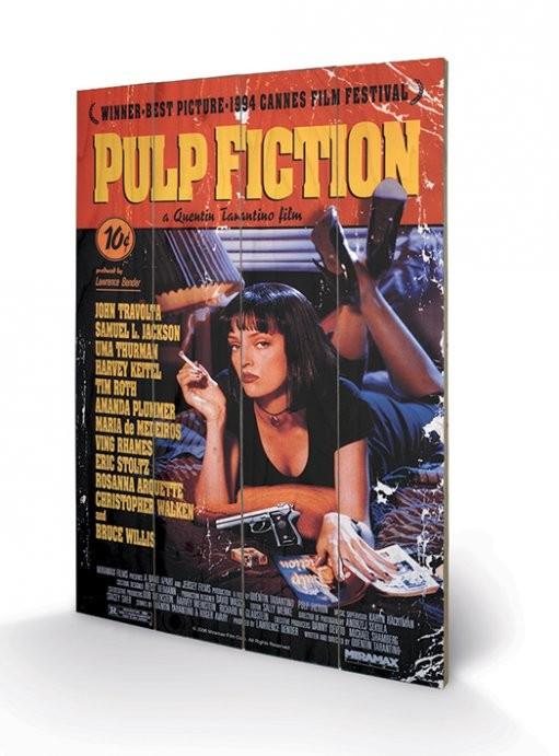 Pulp Fiction - Cover  Panneaux en Bois