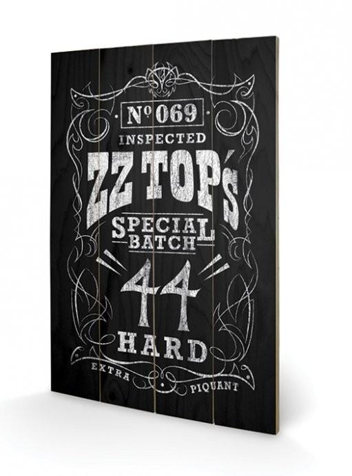 ZZ Top - Special Batch Panneaux en Bois